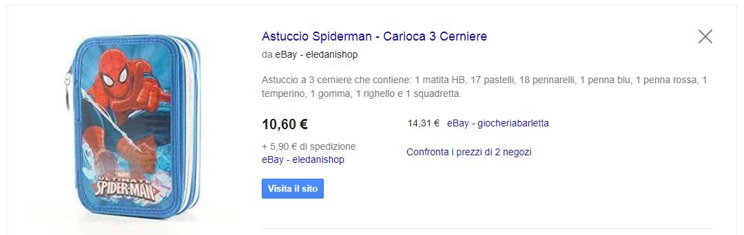 astuccio spiderman google shopping.PNG