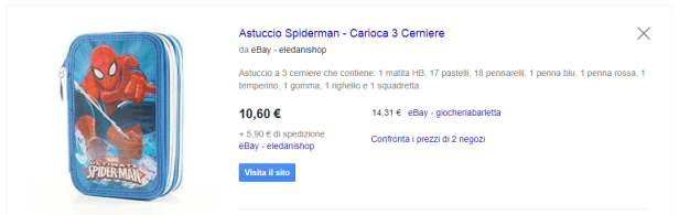 astuccio spiderman google shopping.PNG