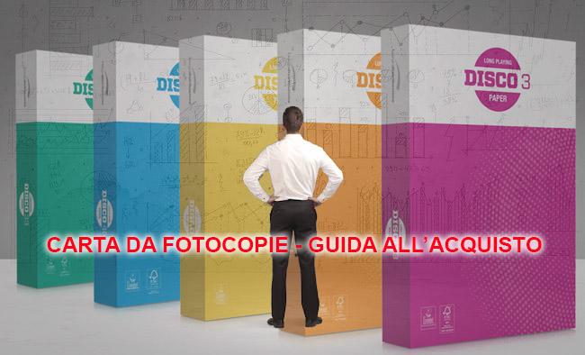 Carta da fotocopie – Guida all'acquisto