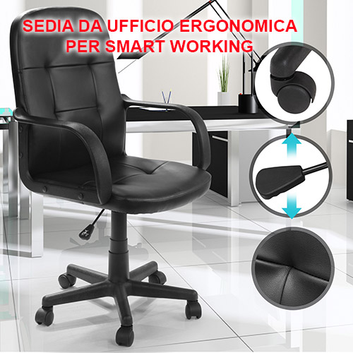 Sedia da ufficio ergonomica -la classifica 2020/2021